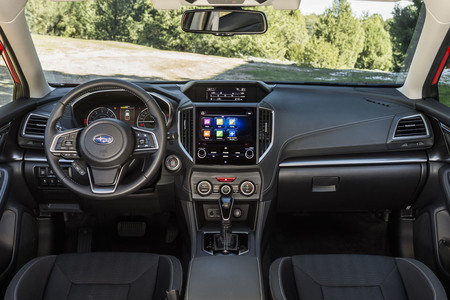Subaru Impreza 2018 interior