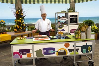 La nueva cocina de verano de Karlos Arguiñano