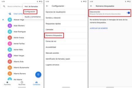 Bloquear Llamdas Numeros Desconocidos Android 10 Mexico