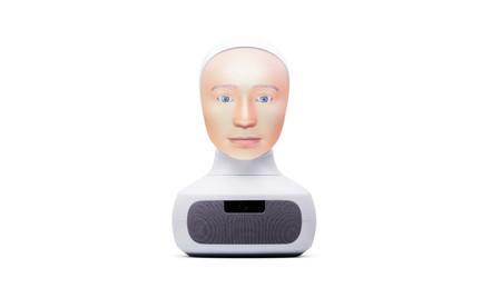 Esta cabeza robótica habla, escucha y mantiene el contacto visual: así es Furhat, el robot-cabeza social