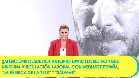 Despido Antonio David