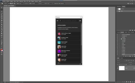 Inteligencia artificial Adobe Photshop