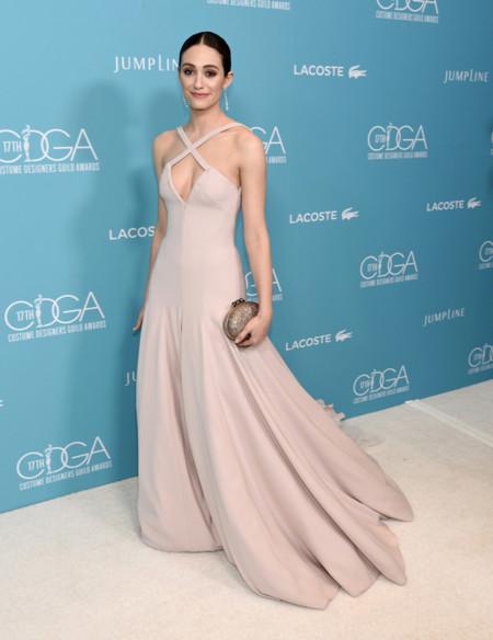 Emmy Rossum Costume Designers Guild Awards 2015