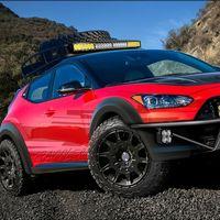 Hyundai Veloster Grappler, el hatchback se pone campero y debutará en el SEMA Show