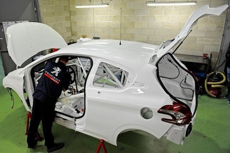 Peugeot Sport ya prepara su nuevo 208 R4T