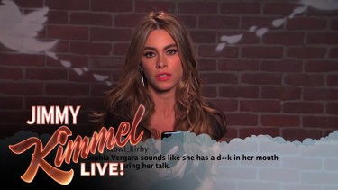 Jimmy Kimmel vuelve a hacer leer tuits insultantes a los famosos