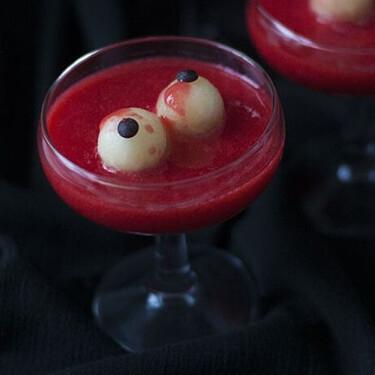 Cóctel sangriento: receta sin alcohol para Halloween