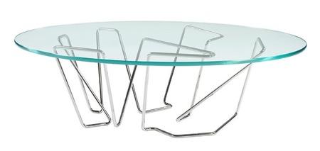 mesas cristal