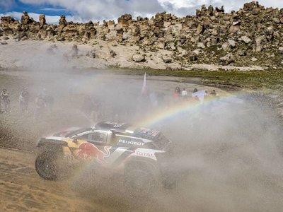 Victoria de etapa de Carlos Sainz en la llegada a Bolivia