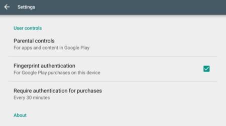 Google Play Fingerprint 2
