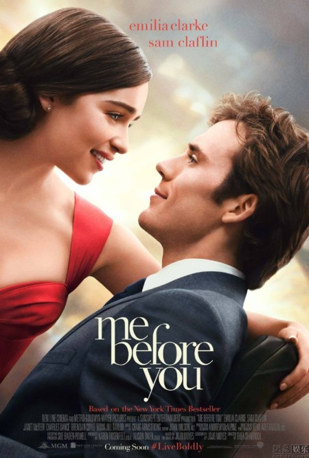 Tráiler de 'Me Before You', la película que nos hará llorar en 2016