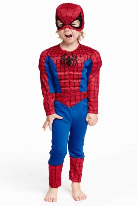 Disfraz Spiderman Nino Halloween