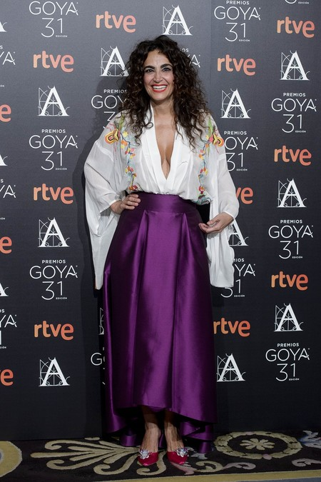 cena premios goya 2017 looks alfombra roja
