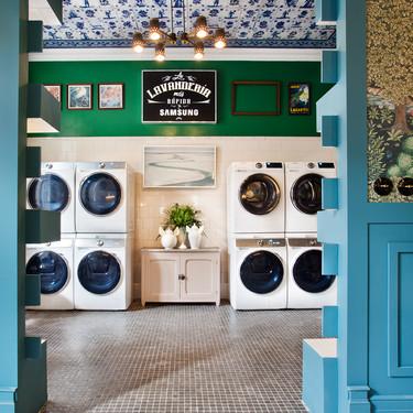 Samsung presenta en su club clandestino de Casa Decor la tecnología Quickdrive para sus lavadoras