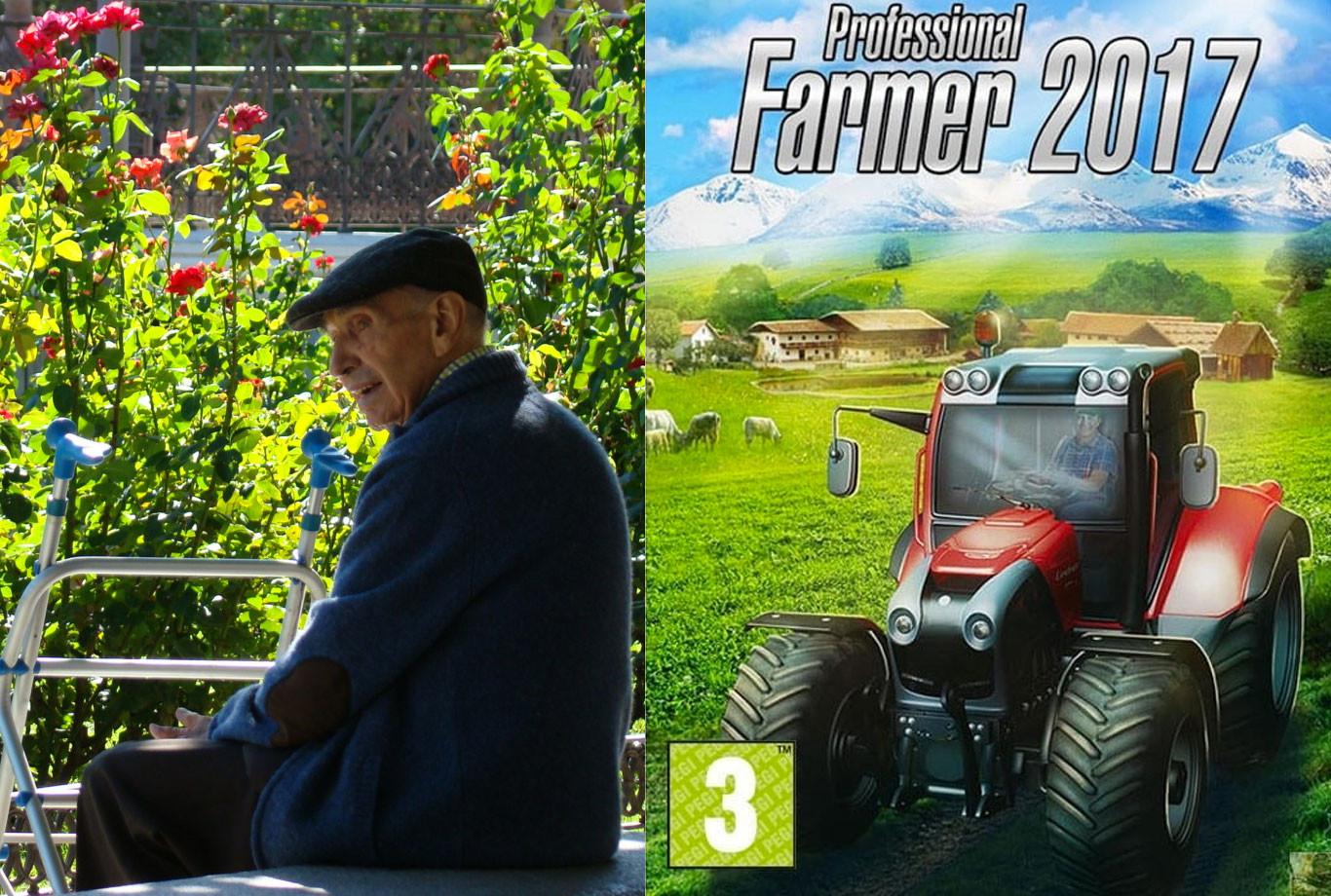 Cuando un granjero con 40 años de experiencia juega al 'Professional Farmer'