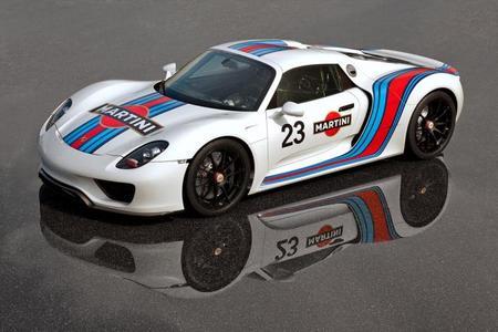 Oficial: diseño Martini Racing para el Porsche 918 Spyder