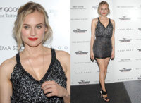 Diane Kruger en la premiere de Inglourious Basterds en Nueva York