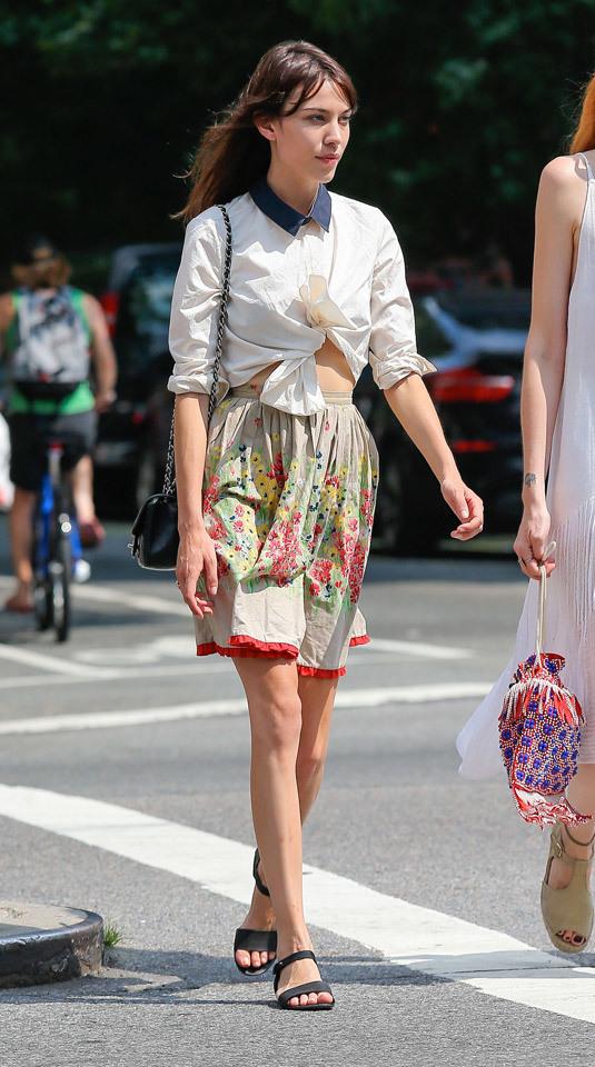 Foto de Top 5-1: Las famosas con mejor street style de 2013 (13/28)