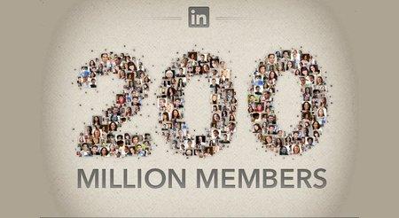 Linkedin, la red social para profesionales, llega a los 200 millones de usuarios