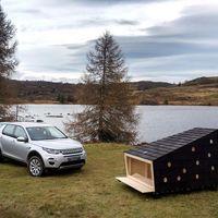 Land Rover y LUMO diseñaron una cabaña rústica desarmable, ideal para ti, que tienes espíritu aventurero