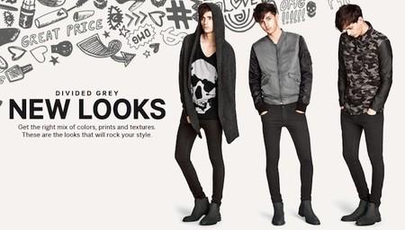 ¿Blanca navidad? Creo que H&M prefiere pintarla de gris y negro