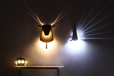 Pop Up Lighting, el nuevo concepto de las lámparas desplegables