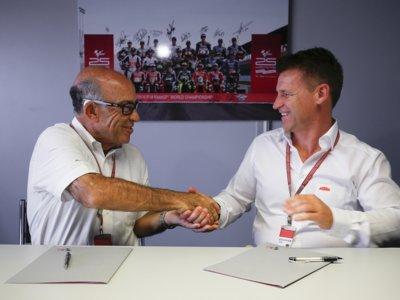 KTM firma con Dorna por cinco temporadas