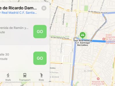Utilizando Apple Maps cuatro años después de su lanzamiento