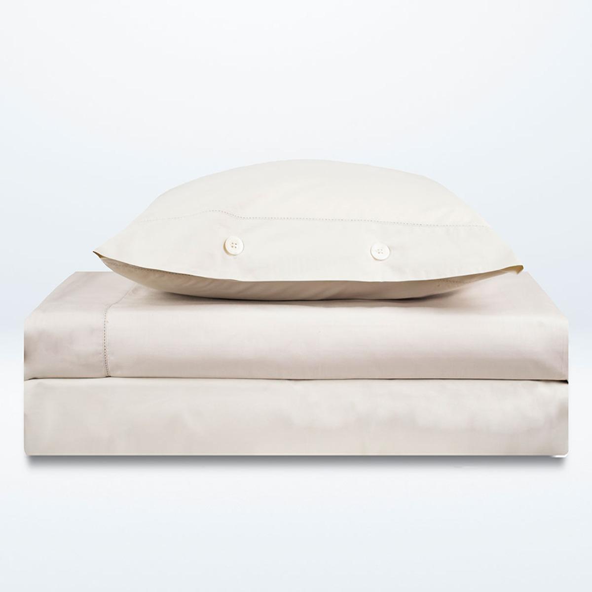 Juego de sábanas de algodón egipcio Tacto Bassols