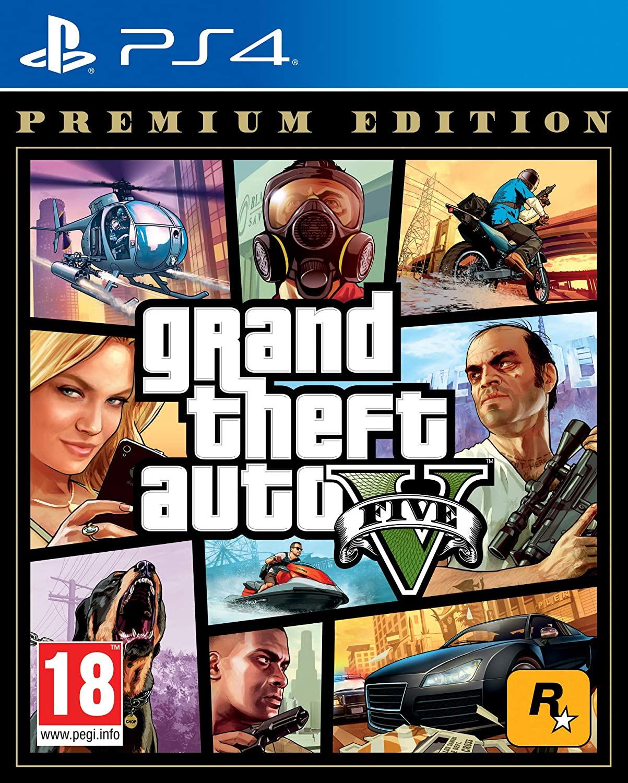 Grand Thef Auto V: Premium Edition para PlayStation 4
