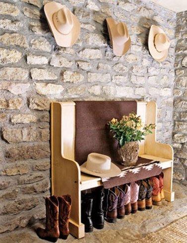 Cómo decorar con sombreros de vaquero