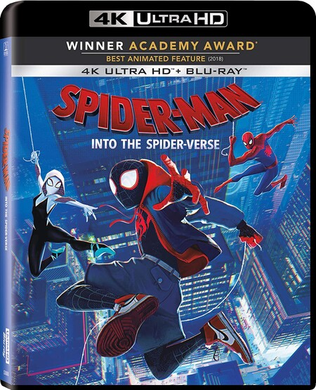 Película de Marvel, Spider-Man Into the Spider-verse Blu-ray 4K de oferta en Amazon México