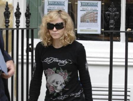 Madonna adopta a otra criatura