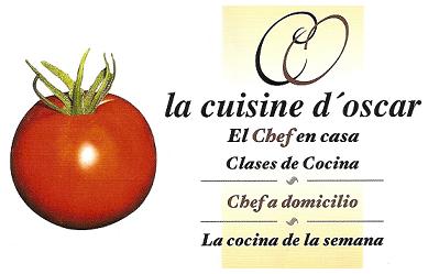 La Cuisine d´Oscar, el chef en casa