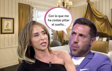 'Socialité': María Patiño se cuela en la habitación de hotel de Antonio David y recibe una dura advertencia