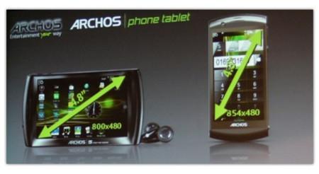 Archos prepara un potente teléfono Android