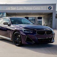 ¡Hecho en México! El BMW Serie 2 Coupé inicia su producción en San Luis Potosí desde donde llegará a todo el mundo