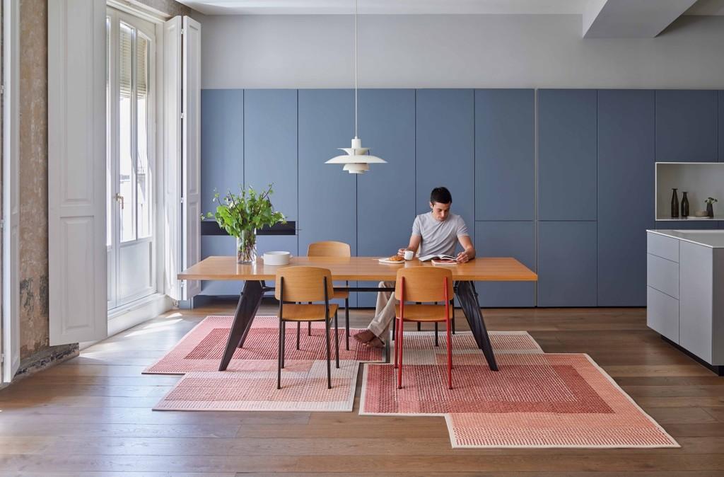 GAN y su nueva colección CANEVAS GEO crean áreas de diferente color y densidad para lugares bonitos