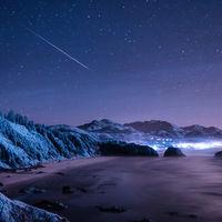 Oregon y Navarra lucen espectaculares con la visión de cámaras infrarrojas: magia en los timelapses