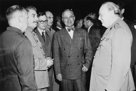 Truman Y Churchill