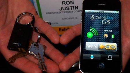 """""""Smart Bluetooth"""" y GPS una buena solución para no perder nada con Cobra Tag"""