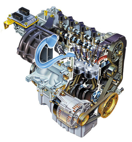 Motor Fiat 1.4 Fire 16v