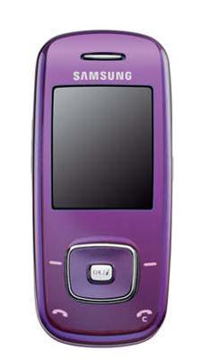 Samsung SGH-L600 en color violeta