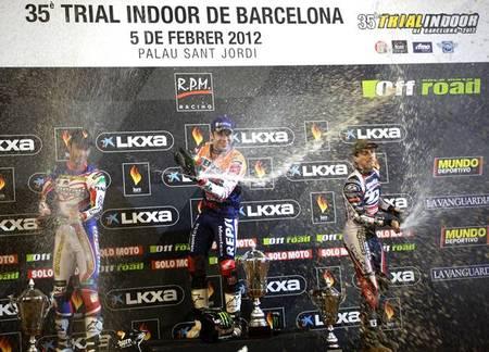 Podium Barcelona