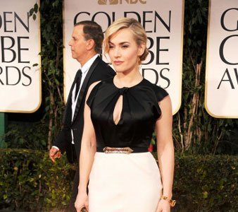 Kate Winslet de Jenny Packham en los Globos de Oro 2012
