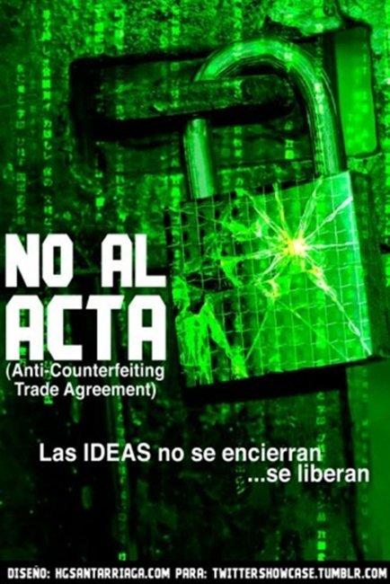 El efecto WikiLeaks, alguien del Parlamento Europeo filtra la última versión del ACTA