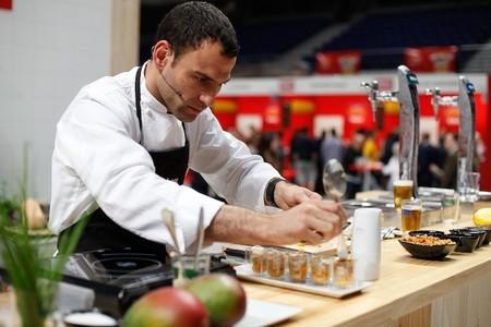 Vuelve a disfutar de los show cooking de Dario Barrio en Tapeo Mahou