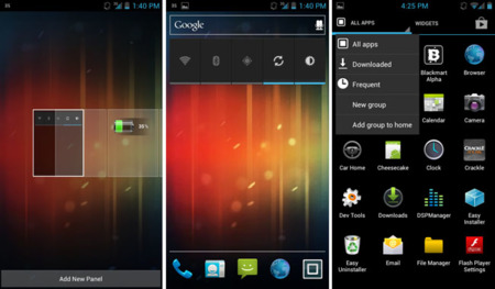 Motoblur, el launcher de Motorola, disponible para ROMs Ice Cream Sandwich