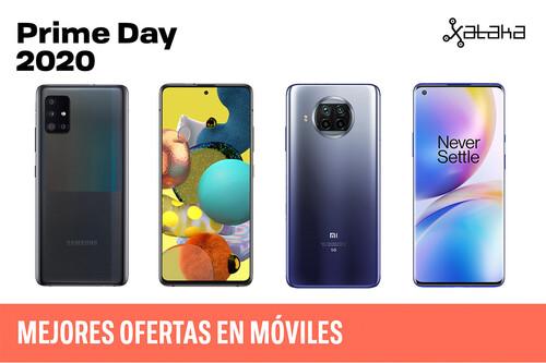 Las mejores ofertas de móviles Android en el Amazon Prime Day 2020