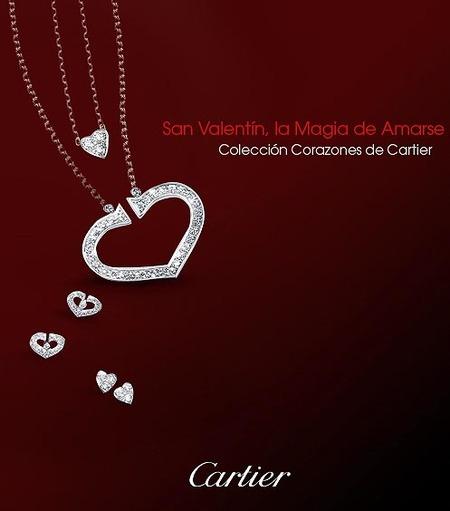 Colección corazones de Cartier